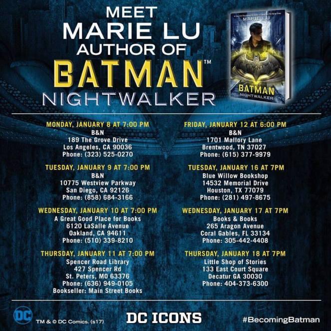 Batman tour