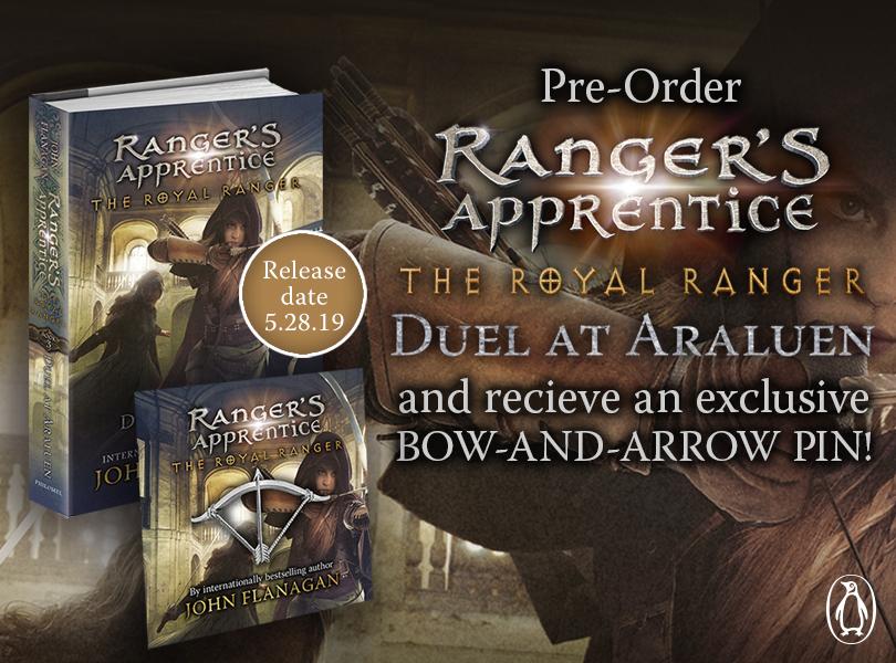 Giveaway: Royal Ranger Duel at Araluen by John Flanagan